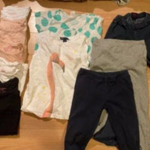 Girls basics bundle size 6-8